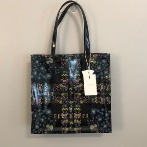 Ted Baker Floral Polyvinyl Tote Bag